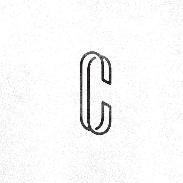 Cc Monogram Monogram Typography Logo Personal Identity Design Typography Branding