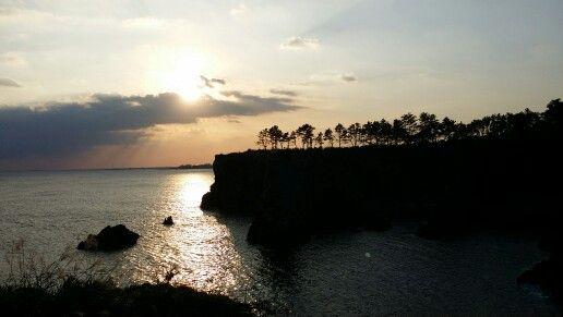 Jeju island - sunset