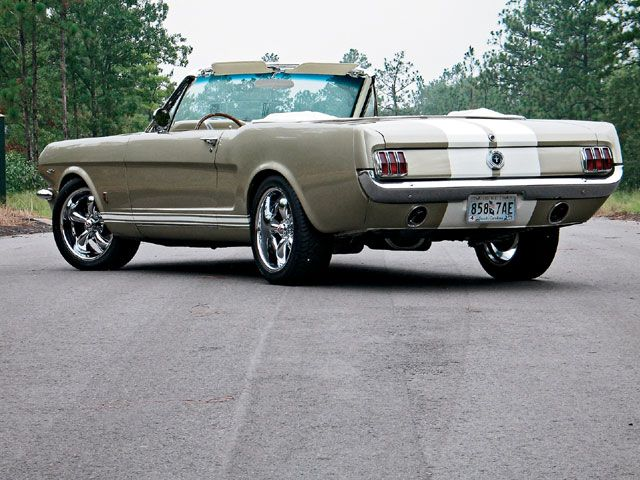 A very very very popular 1965 Ford Mustang GT Convertible