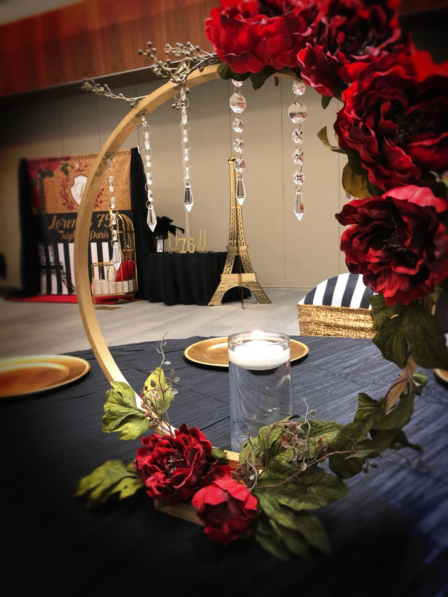 Pin By Shronda Thrower On Hula Hoop Centerpieces Amp Ideas