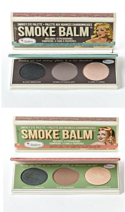 f53ac196d40 the Balm Smoke Balm Eyeshadow Palette at Kohls The Balm smokey eyes makyaj  paleti kahve ve siyah tonlarinda - yeni!!!