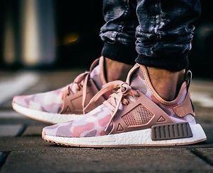 Adidas-NMD-XR1-Pink-White-Duck-Camo-All-UK-Sizes-3-4-5-6-7-8-9-EQT-PK-Raw b5d9eddae
