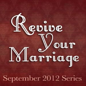 Join WomenLivingWell.org, UnveiledWife.com, TimeWarpWife.com and ToLoveHonorAndVacuum.com for a fun September! We will focus on your friendship, attitude, prayer, praise, and sex {blush}  in marriage! Each week there will be a devotional, Challenge & link-up! The kids are back-in-school - time to breathe life back into your marriage!