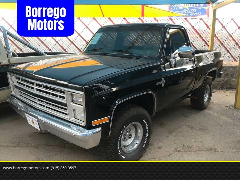 This 1986 Chevrolet C K 10 Series C10 Silverado Is Listed On