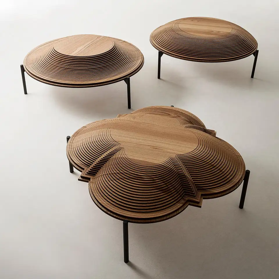 Modern Sculptural Wood Coffee Table Dome 1 By Sebastiano Bottos Italy Coffee Table Coffee Table Wood Wood Cocktail Table [ 960 x 960 Pixel ]