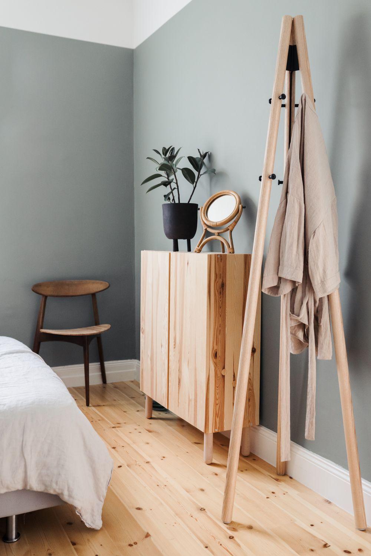 Schlafzimmer Garderobe Kleiderstander Dekoideen Lifestyle