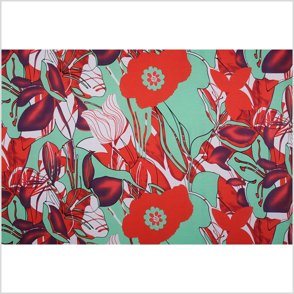 To cover kitchen cabinets poppy redming green floral polyester