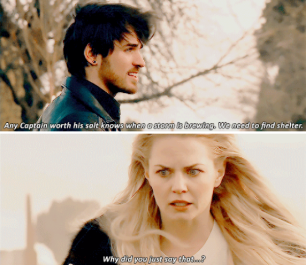 "Emma Swan and Killian Jones - 5 * 17 ""Her Handsome Hero"" #CaptainSwan"