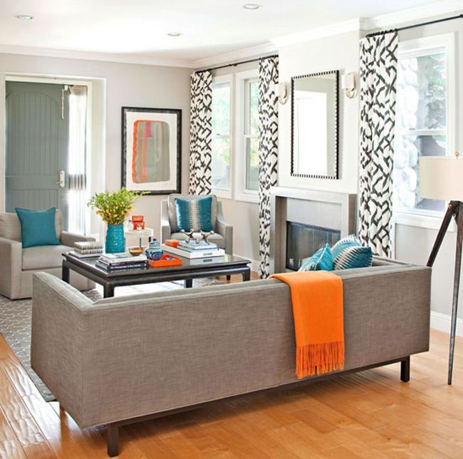 9 Techniques for Invigorating Your Home with a Pop of Orange #graybedroomwithpopofcolor 9 Techniques for Invigorating Your Home with a Pop of Orange #graybedroomwithpopofcolor