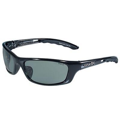 14118e5def6 Wiley X Sunglasses - Black Ops P 17 Sunglasses Green Polarized Lenses