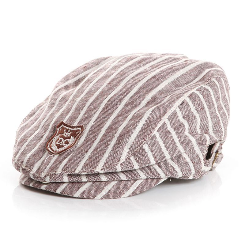 5f582d6984ea6 Click to Buy    Toddler Infant Kids Baby Boys Children Stripes Peaked  Baseball Beret Cap Sun Hat  Affiliate