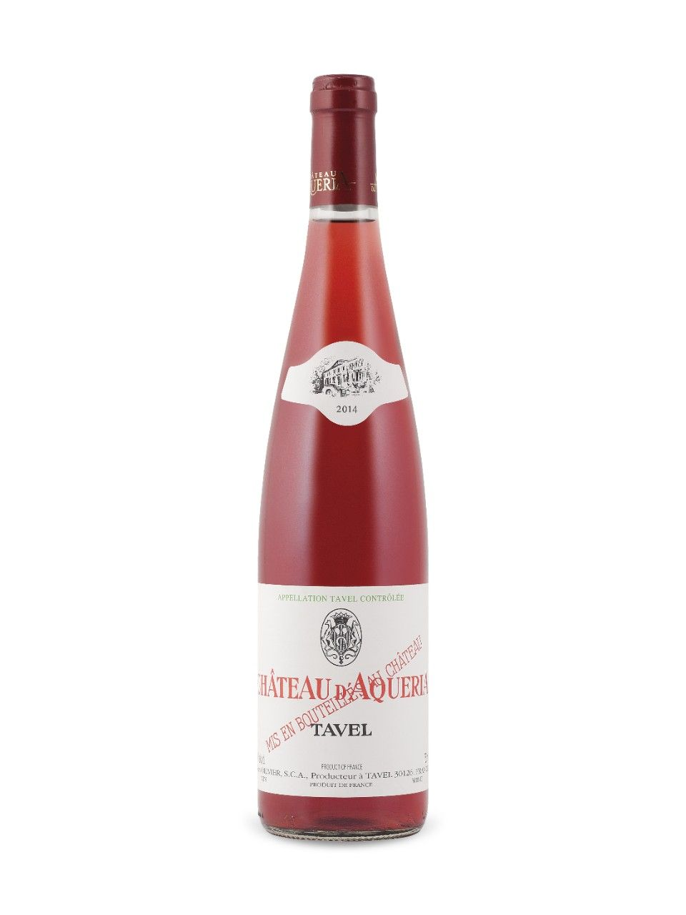Chateau D Aqueria Tavel Rose 2014 Rhone A C France Natalie S Score 91 100 Http Www Nataliemaclean Com Wine Reviews Ch Wine Wine Bottle Wine Label Maker
