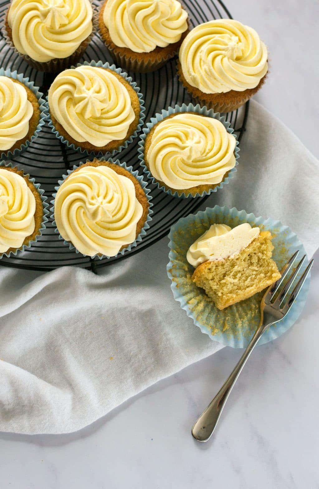 Vanilla Vegan Cupcakes Recipe | The Veg Space UK food blog ...