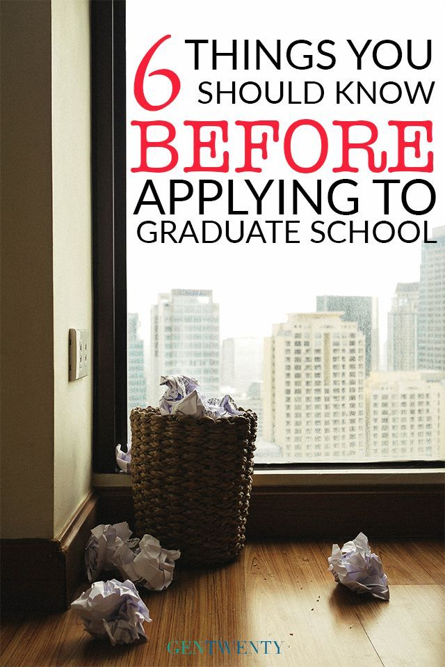 Applying to Graduate School What to Expect School Life skills