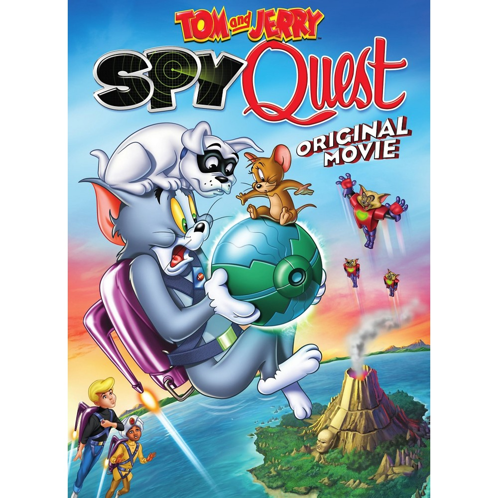 Tom And Jerry Spy Quest Dvd Video Tom E Jerry Filmes Filmes