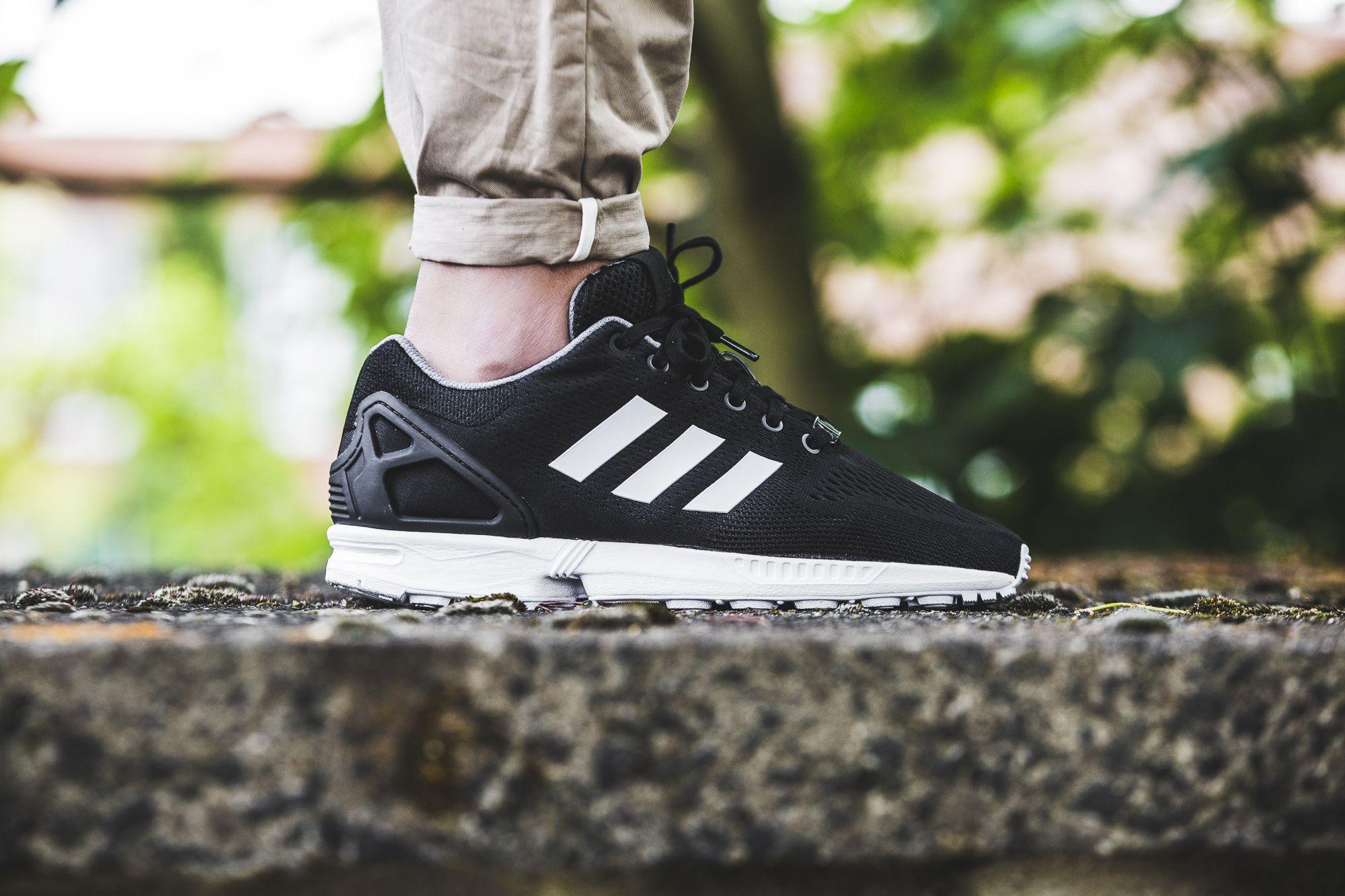adidas ZX Flux (schwarz weiß) | Adidas zx, Männer