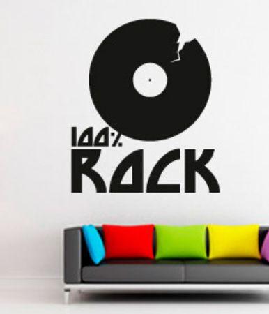 100 percent Rock Seinätarra AllPosters.fi-sivustossa