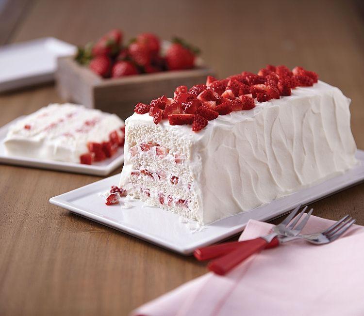 Image Result For Loaf Cake Decoration Strawberry Shortcake