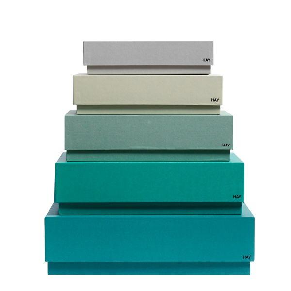 Box Box Desktop laatikot 5 kpl, vihre�