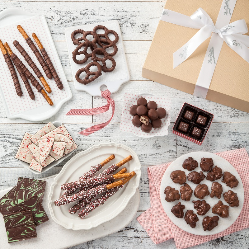 The Sweet Tooth Strategy...  Give a winning selection of exclusive confections!