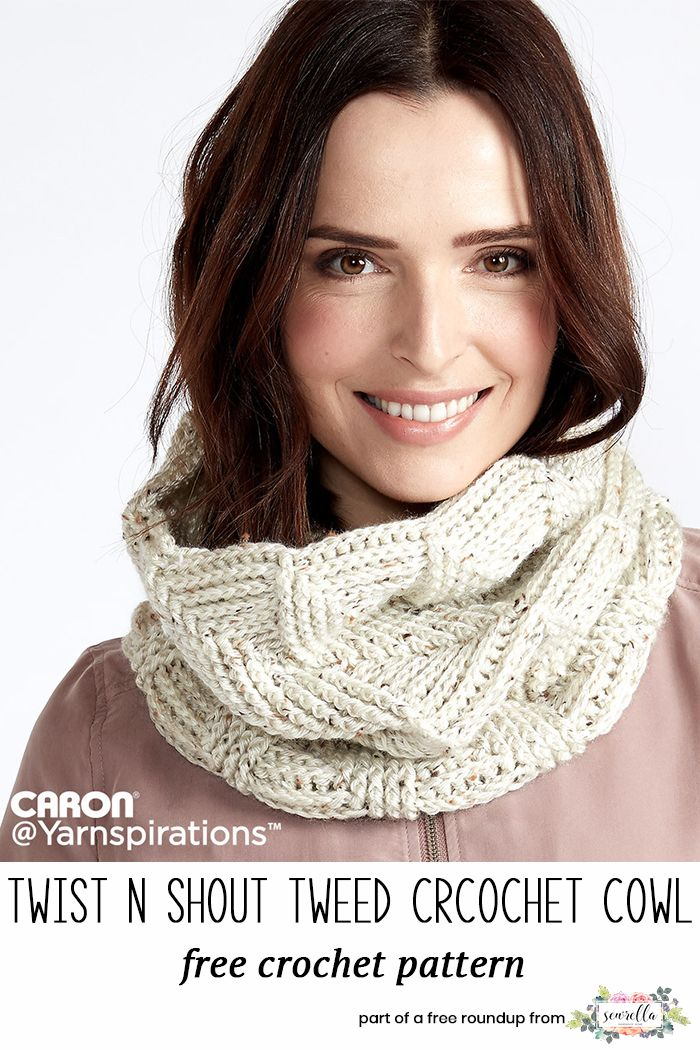 Crochet Scarf Patterns that Look Knit | CrochetHolic - HilariaFina ...