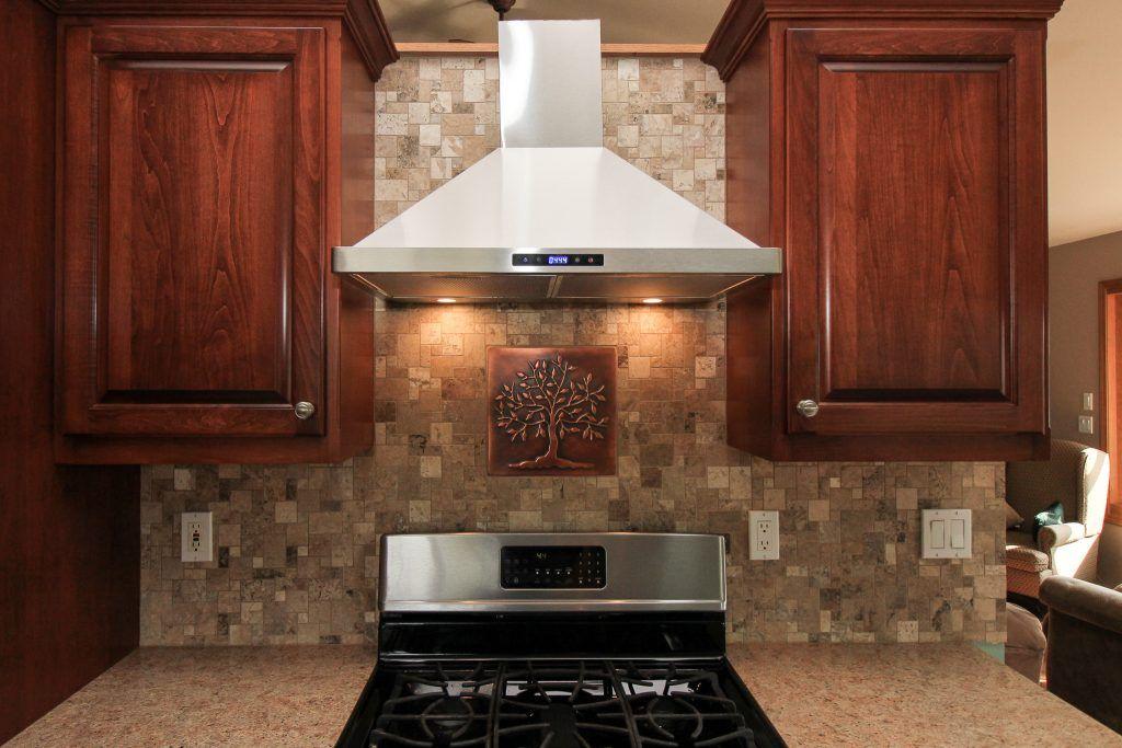 Natural Stone Tile Kitchen Backsplash Stone Tiles Kitchen