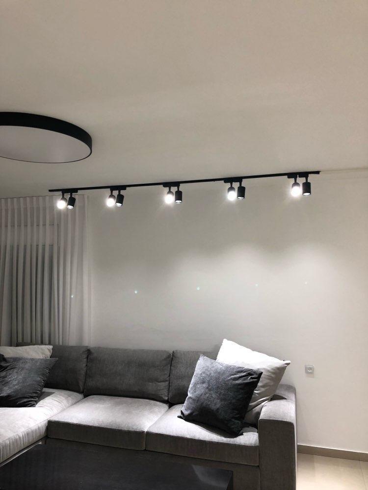 Product Solution 7 9 12w Cob Led Track Light Led Rail Lamp Leds Spotlights Ilumin Living Room Lighting Design Living Room Lighting Living Room Design Modern #small #living #room #lights