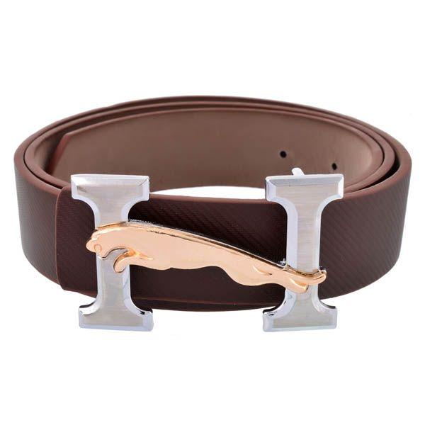 Stylehoops Brown Jaguar on H Buckle Belt #bucklebelt #brownbelt #jaguarbelt #beltformen #mensfashion #mensstyle #mensbelt
