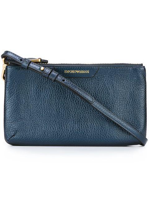 fa8f79ce129 EMPORIO ARMANI Top Zip Crossbody Bag.  emporioarmani  bags  shoulder bags   leather  crossbody