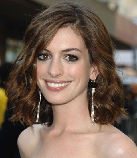 Anne Hathaway Lob: Haircuts, Bobs And Hair Style
