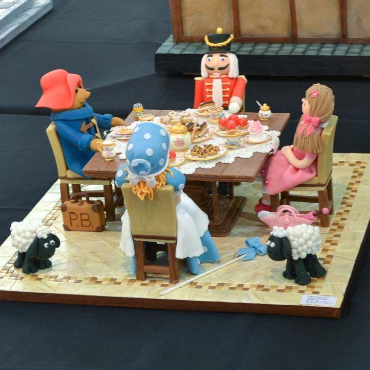 Cake Art Exhibit : Cake International decorative exhibit-10 Amazing