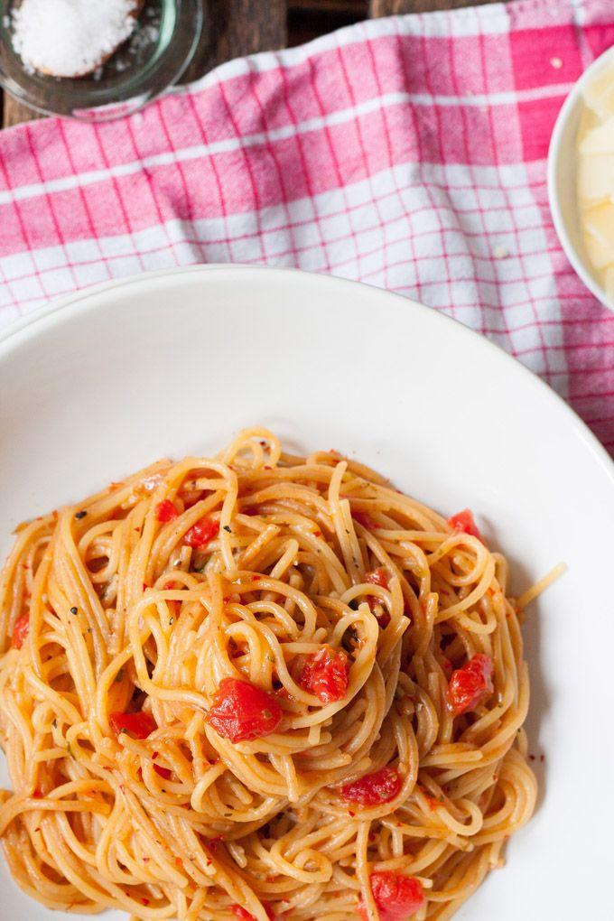 One Pot Pasta Grundrezept - schnell, einfach und genial gut