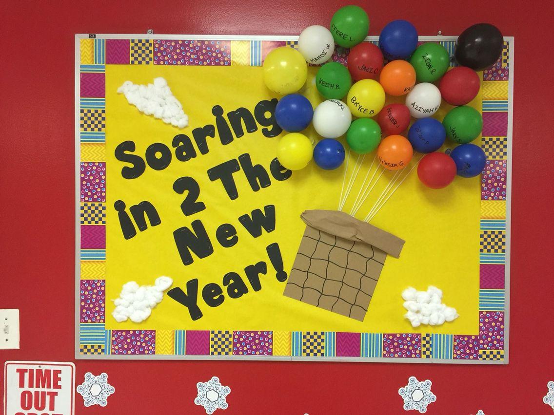 Happy New Year Bulletin Board Teacher Bulletin Boards Bulletin Boards Bulletin