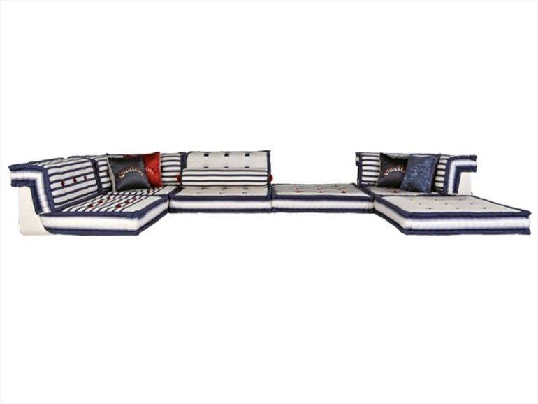 Divano componibile reclinabile MAH JONG MATELOT Collezione Les Contemporains by ROCHE BOBOIS | design Hans Hopfer