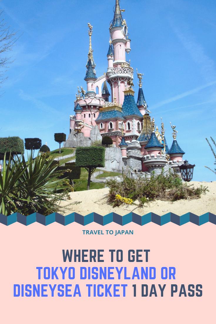 Tokyo Disney Ticket 1/2-Day Pass (Taiwan/South Korea Pick Up