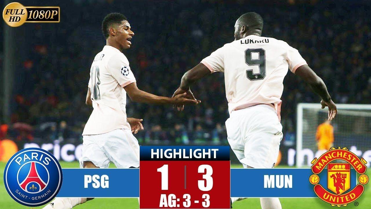 PSG vs Manchester United 13 Highlights & All Goals 2019