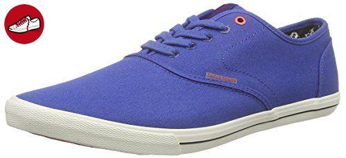 Jack & Jones Jjspider Basic Canvas Sneaker Dress Blue, Herren Sneakers, Blau (dress Blues), 41 Eu
