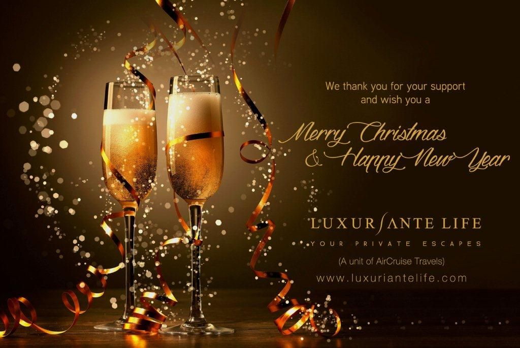 We thank you for your support and wish you a happy new