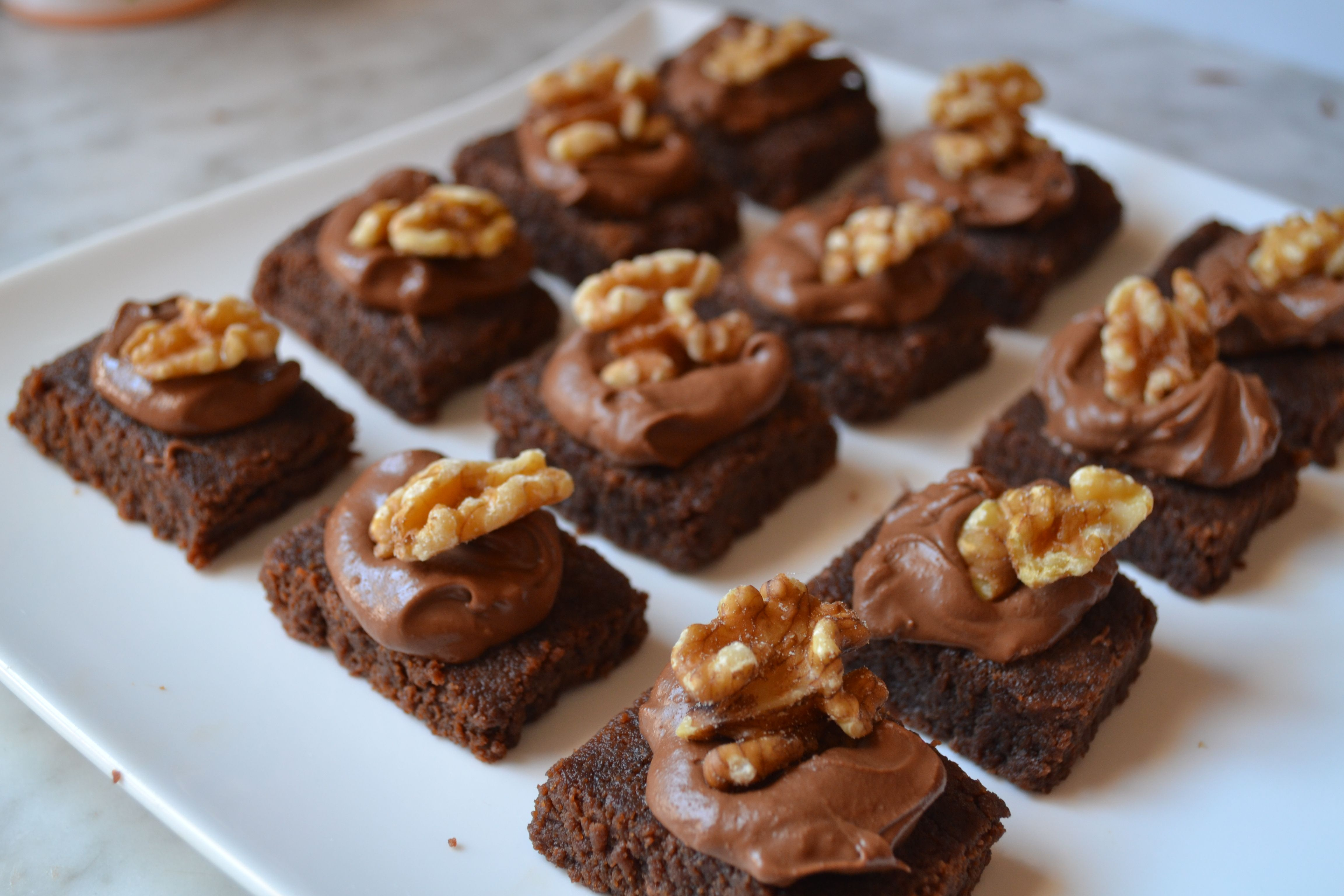 Brownies!!! chocolate and nuts yummy!
