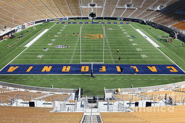 Berkeley California Ca Football Football Field Football Fields