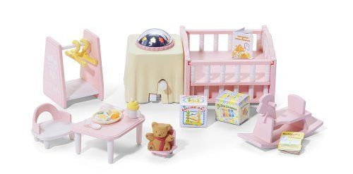 Calico Critters Nightlight Nursery Set