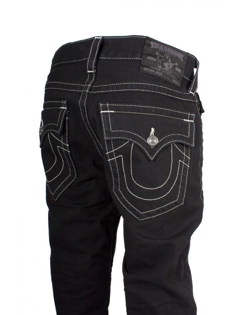 All black true religion jeans – Global fashion jeans models