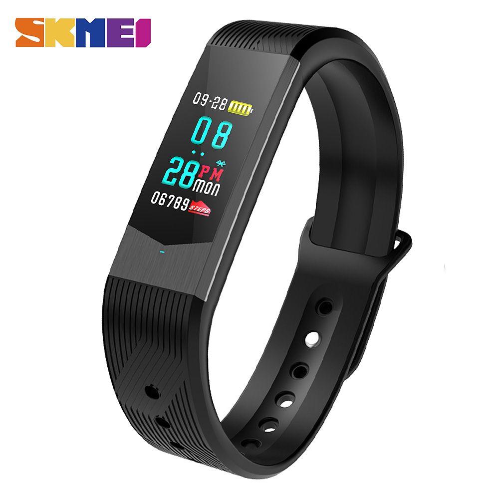 9d4231b953ca SKMEI 3D UI Smart Fitness Tracker Sport Outdoor Smartband Waterproof  HeartRate Blood Pressure Bracelet Fashion Men Women Watches Review