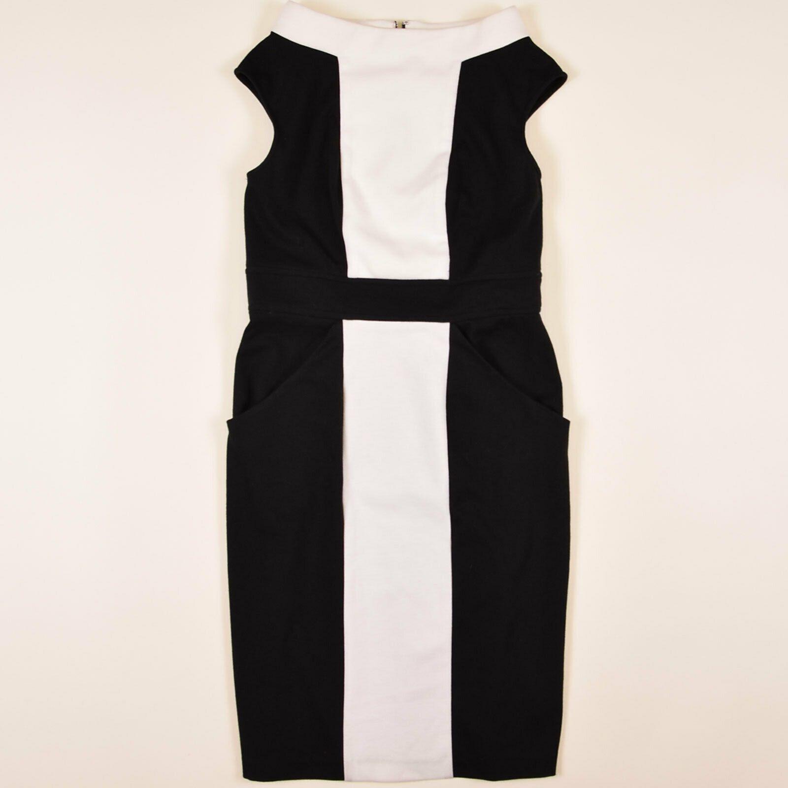 Adrianna Papell Damen Kleid Dress Etuikleid Gr.10 Elegant Business