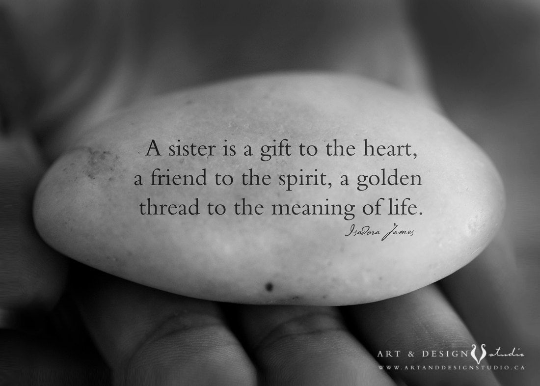 Unique Sister Gift   Sisters Quote, Best Friend Quote, BFF
