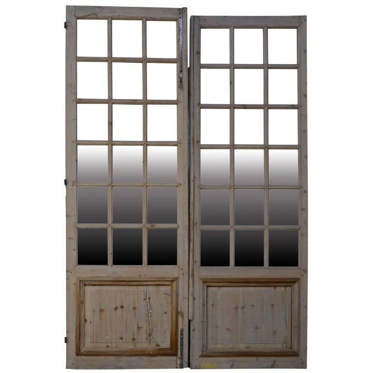 For Sale On 1stdibs Fir Glass Door From The 19th Century Four Units Antique French Doors Wrought Iron Gate Vintage Doors