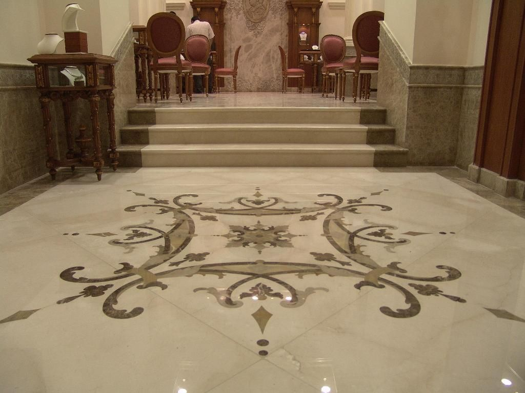 Stunning Marble Floor For The Dwelling House For Unique And