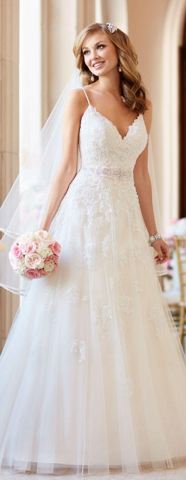 Stella York Fall 2016 Bridal Collection | Stella york, Wedding dress ...