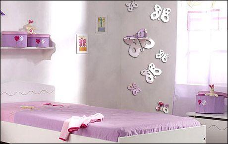 Miroir décoratif repésentant des papillons à tâches idéal pour ...