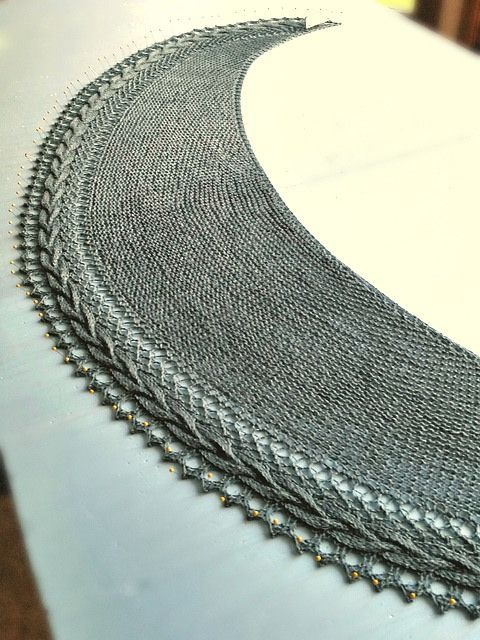Garter Tab Cast On For Triangular Shawl Excellent Explanation Of Alternative Methods Knitting Outlander Knitting Knitting Patterns
